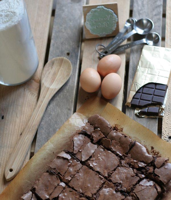 indulgent chocolate brownie